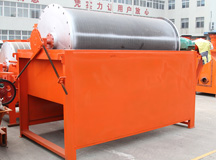 Wet low intensity magnetic separators