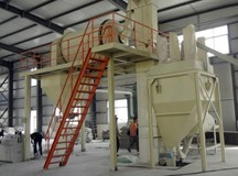 500,000 t/year full-automatic dry mix mortar plant